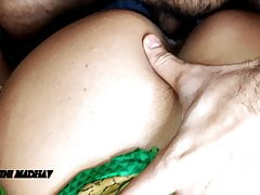 Horny Stepmom Fucked stepson after fighting with Husband