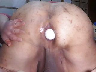 Fat Jap cum dump pig Shino lays big egg from the ass hole