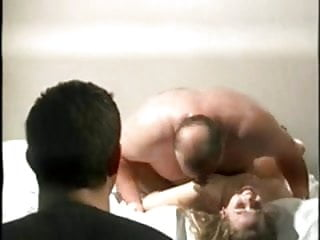Wife fucks in front of hubby...