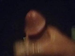 Late-night stroking big dick Kevin