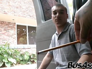 Blindfolded straighty tricked into sex...