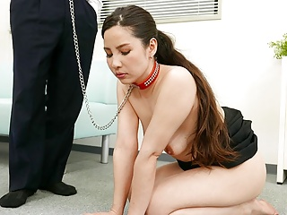 JAV secretary, Ai Kamijou were given hammered, uncensored