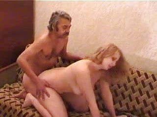 blonde fucked by old man...