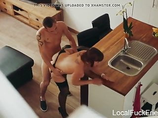 french babe gets both holes used