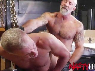 NASTYDADDY DILFS Dale Savage And Lance Charger Bareback Hard