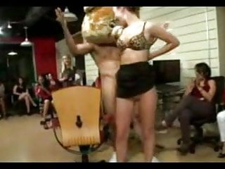 Cheating the stripper at her bachelorette party...