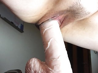 Riding Her Big Toy Part 2 – Mature Chunky Asian