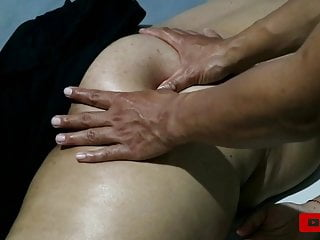 Massage Tutorial with Aunt Ika Such A Big Ass - Nice Ass, Sexy and Wet