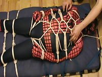 Spiderman is tickled