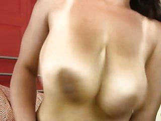 Busty natural hairy pussy...