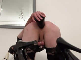 Sissy poppers whore playing and holes...