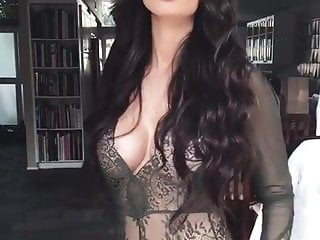 Brunette in Sexy Lingerie