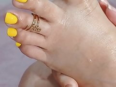 Sexy Toes Self-worship