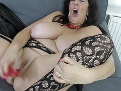 Gorgeous mature mother with big tits and ass