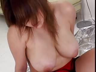 Chubby asian with creampie...