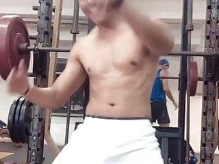 Mexican thug dancing gym...