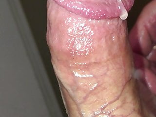 Massive Pre-Cum and Thick Slow Load!