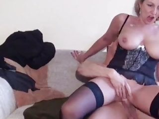 سکس گی Lucky Guy with Big Cock Fucks His First Cougar MILF young old &amp milf hd videos handjob  german cumshot cougar blowjob  big tits big cock