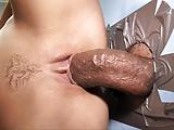 Aleska Diamond Takes Her First Big Black Cock - Gloryhole
