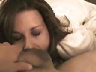 Hot White Wife Sucks Big Arab Cock