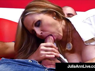 Tutor Fucking Time With Professor Julia Ann Banging Student!