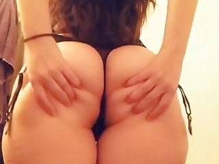 pawg in sexy black lingerie