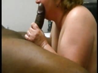 Milking His Black Dick