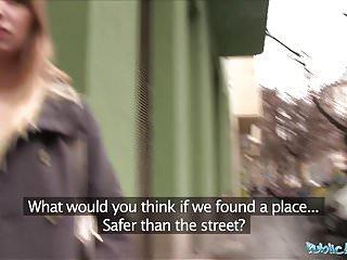 Public Agent Cute style prospect Vyvan Hill fucked