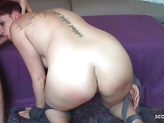 redhead german mother made to slave and fuck by step sonPorn Videos