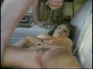 Hardcore Sex in the Car with a lot of Cum