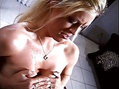 Vintage blonde tittyfucked