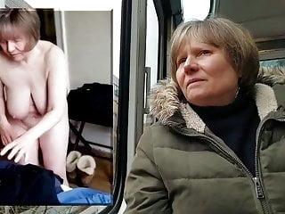 Public vs private naked gilf...