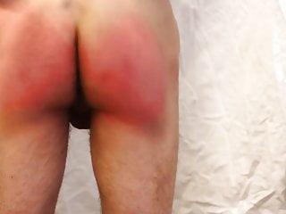 Belt spanking...