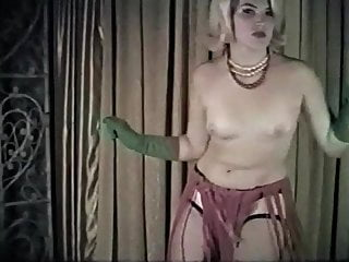 TWIST AGAIN  - vintage stockings blonde dance tease