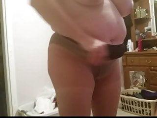 black pantys, panty hoes, black girdle, big tits