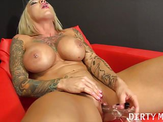Duchess Dani Masturbating With A Very Special Toy