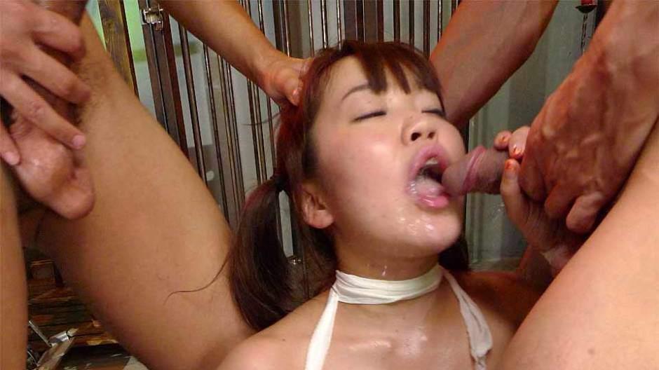 Wife Gangbang Cum Mouth