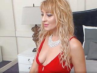 Mature Romantic Bisexual video: Dimitrena from Plovdiv Bulgaria Lustful in Red