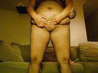 bbw fatty posing in fishnetHD Sex Videos