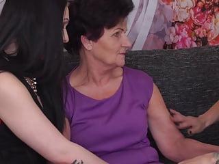 Grandma gets sex from...