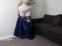 sally just loves to remove her granny pants and braPorn Videos
