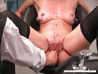 I am pierced piercings slave candle torture...