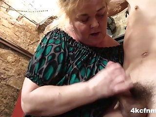 Huge Grandma Lastly Misplaced It – FemDom