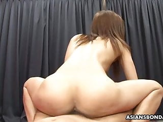 Kinky Japanese bitch, Aoi Mikami got a massive facial cumsho