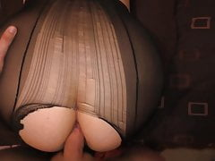 First Anal Sex Teen in Pantyhose - Amateur Sex