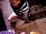 Chinese girl blowjob and rimjob par