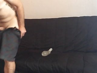 Step son uses fake asshole to get off...