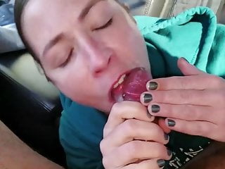Wife does and swallow cum...