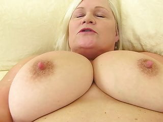 Big hungry pussy with wild granny chested
