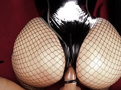 Cristal Kinky POV Latex and Fishnets Big Booty Preview